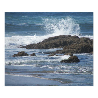 splash color photo print
