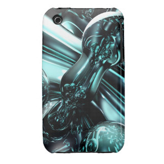 Splash Down Abstrac iPhone 3G/3GS Case-Mate Barely iPhone 3 Case-Mate Case