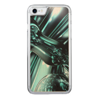 Splash Down Abstract Carved iPhone 7 Case