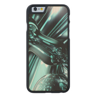 Splash Down Abstract Carved Maple iPhone 6 Slim Case