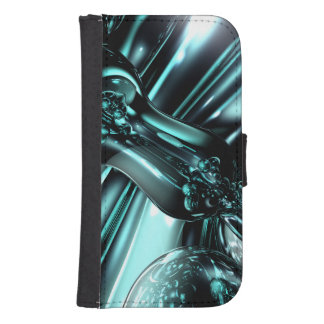 Splash Down Abstract Galaxy S4 Wallet Cases