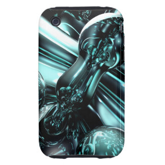 Splash Down Abstract iPhone 3G/3GS CaseMate Tough iPhone 3 Tough Cover