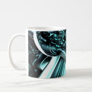 Splash Down Abstract Mug