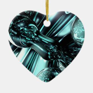 Splash Down Abstract Ornament