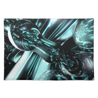 Splash Down Abstract Placemats