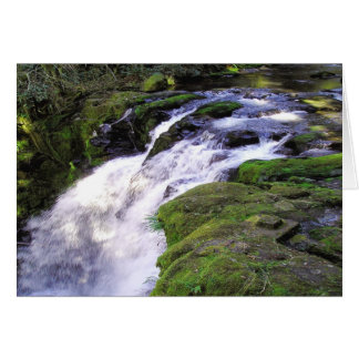 Splash Down Waterfall Card