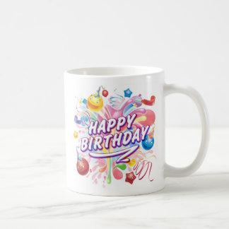 splash Explosion birthday mug