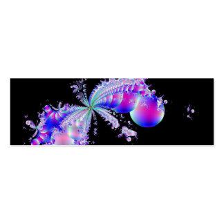 Splash Fractal Art Business Card
