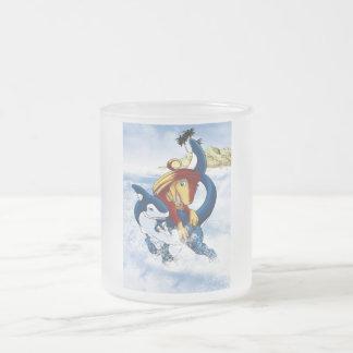 Splash! Frosted Glass Coffee Mug