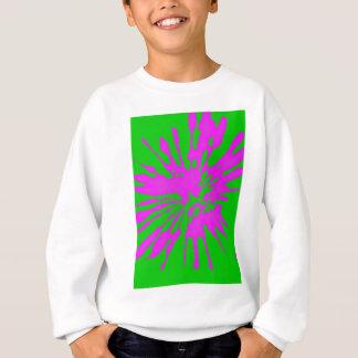 Splash Green and Pink Design Sweatshirt