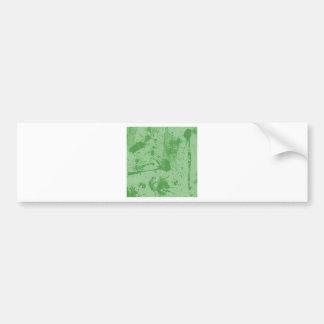 splash green bumper stickers