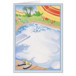 Splash © greeting card