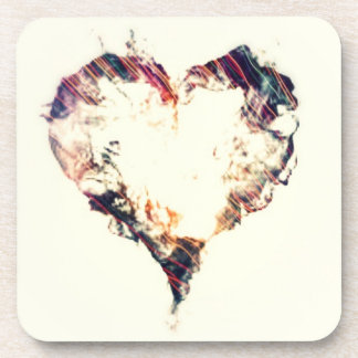 Splash Heart Coaster