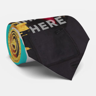 Splash Image Cut Custom Photo Funny Neck Ties