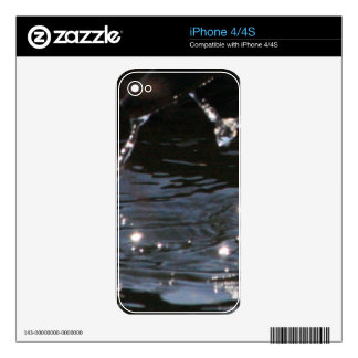 Splash iPhone 4S Skin