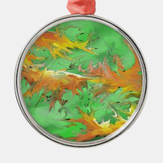 Splash Metal Ornament