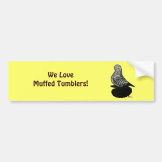 Splash Muffed Tumbler2 Bumper Sticker