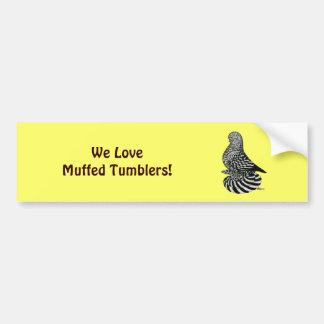 Splash Muffed Tumbler Bumper Sticker