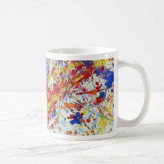 Splash no.1 basic white mug