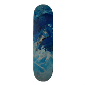 Splash of Blue Skateboard