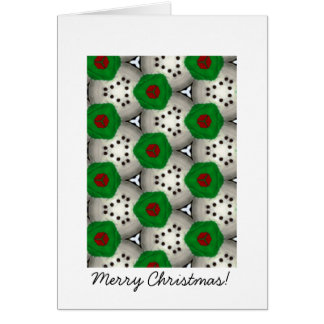 Splash of Christmas 1 Greeting Card