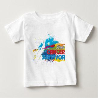 Splash of Color - Bone Cancer Survivor Tshirts