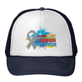 Splash of Color - Brain Cancer Survivor Trucker Hat
