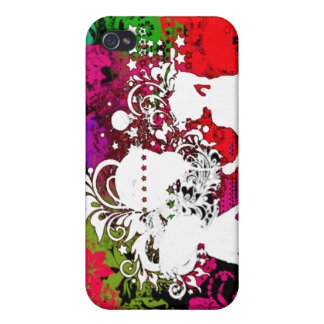 Splash of color case for iPhone 4