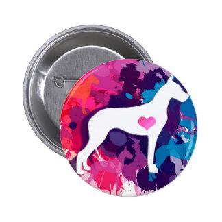 Splash of Color-ful Danes Button