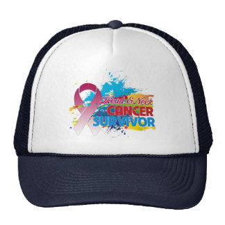 Splash of Color - Head and Neck Cancer Survivor Trucker Hat