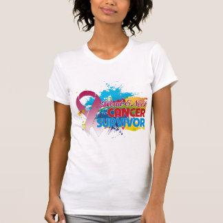 Splash of Color - Head and Neck Cancer Survivor Tshirt