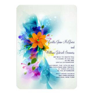 Splash of Color Invitation