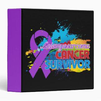 Splash of Color - Leiomyosarcoma Survivor Binder