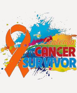Splash of Color - Leukemia Survivor T Shirt