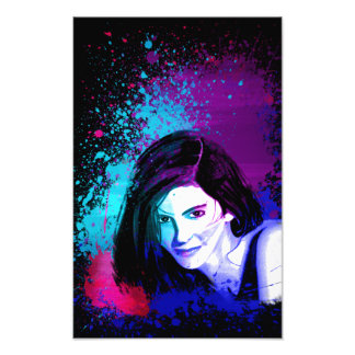 Splash of Color Photo Print