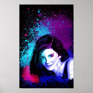 Splash of Color Poster