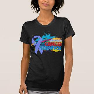 Splash of Color - Stomach Cancer Survivor Shirt