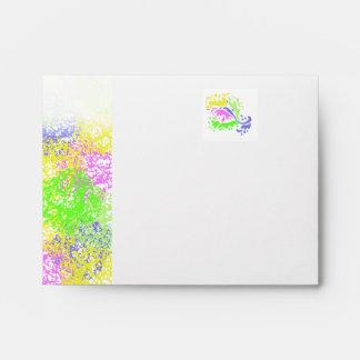 Splash of Color ~Style 1~ Envelope