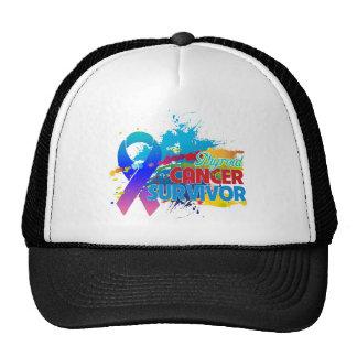 Splash of Color - Thyroid Cancer Survivor Trucker Hats