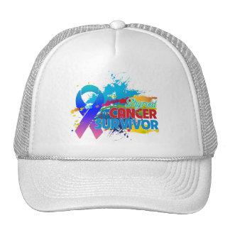 Splash of Color - Thyroid Cancer Survivor Trucker Hat