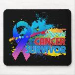 Splash of Color - Thyroid Cancer Survivor Mousepads