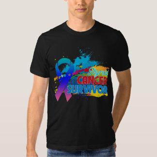 Splash of Color - Thyroid Cancer Survivor T Shirt
