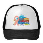 Splash of Color - Uterine Cancer Survivor Mesh Hats