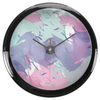 Splash of Colour Fish Tank Clocks