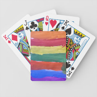 Splash of Colours Bicycle Playing Cards