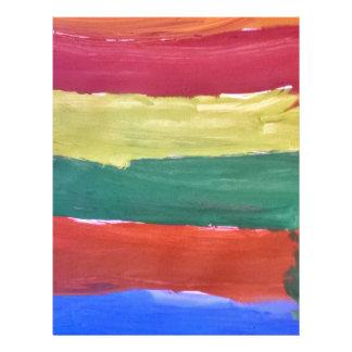 Splash of Colours Letterhead