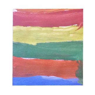 Splash of Colours Notepad