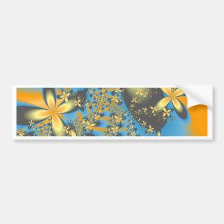Splash of Flowers Car Bumper Sticker