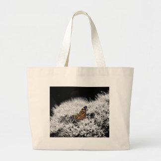 Splash of Flutter Large Tote Bag