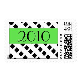 Splash of Lime - 2010 event postage